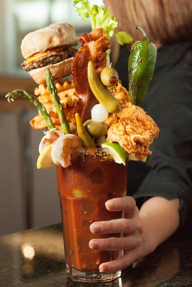 Hamburger Bloody Mary